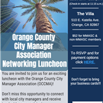 2017 MMASC and OCCMA networking luncheon flyer