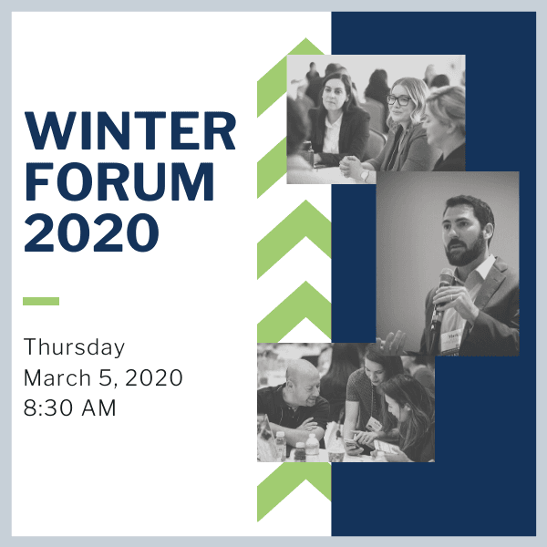 Copy of Winter Forum 2020 - Save the Date